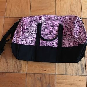 Victoria Secret duffle bag/beach bag. New.